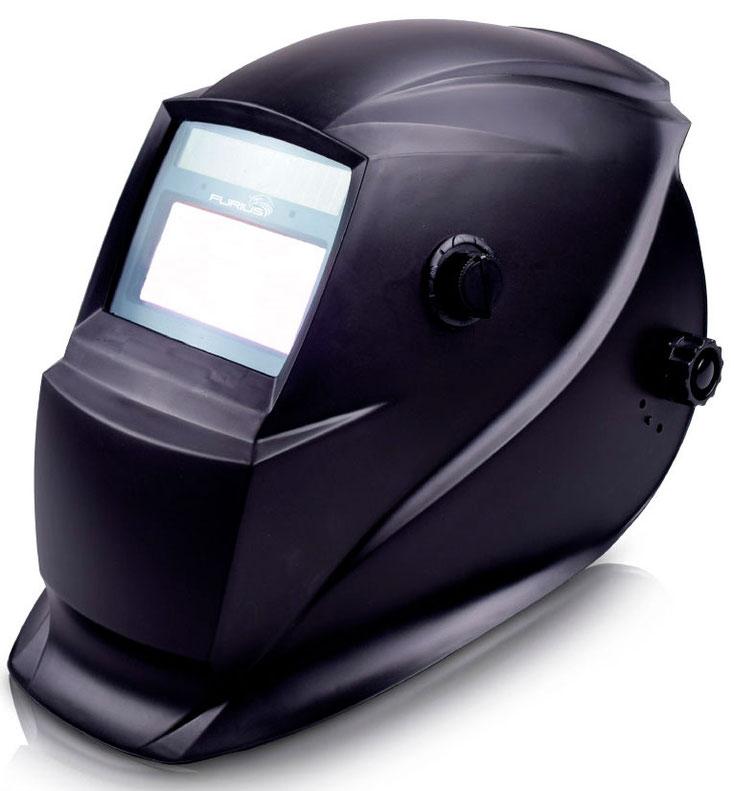 Careta electrónica para soldar Black 440 marca Furius