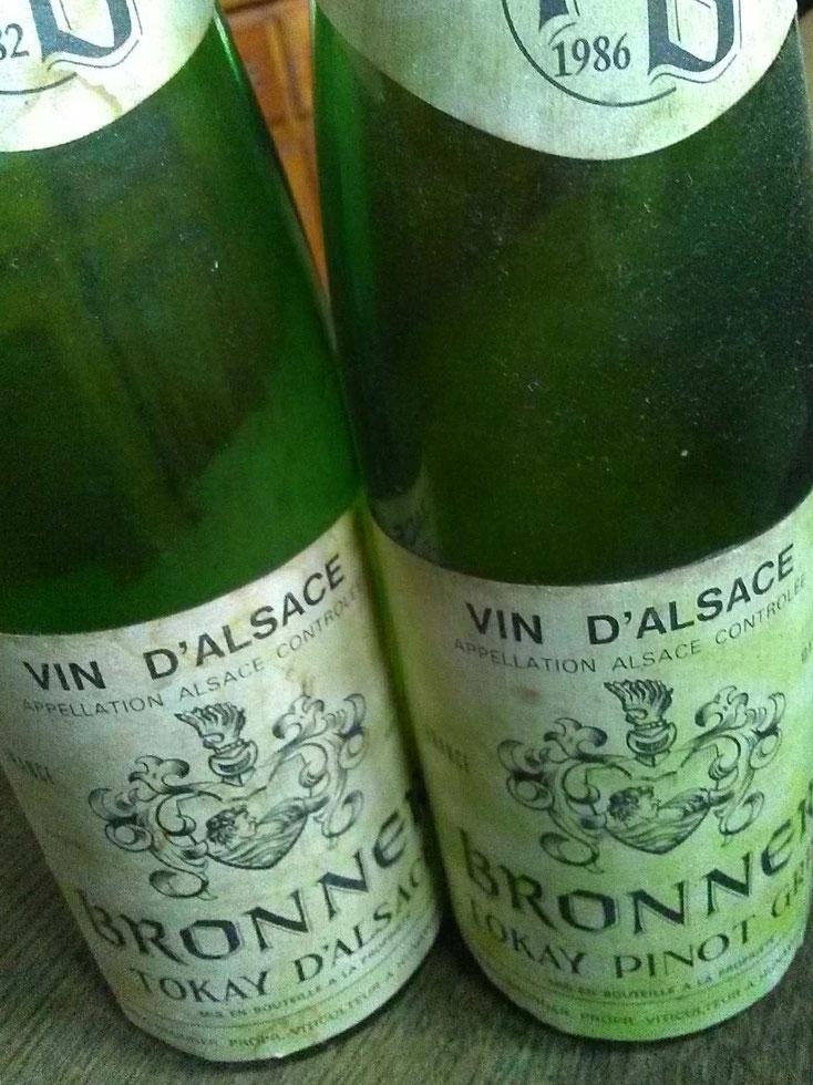 Du Tokay d'Alsace au Tokay Pinot Gris : l'histoire sur les étiquettes familiales