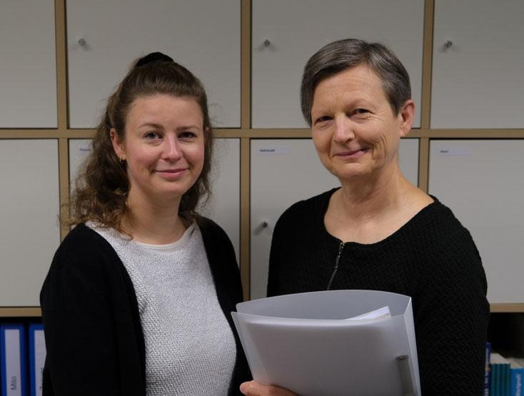 Monique Schenker (links) und Yvonne Schenker (rechts)