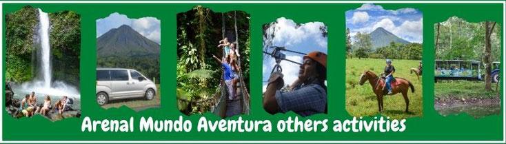 Activities at Arenal Mundo Aventura Ecological Park