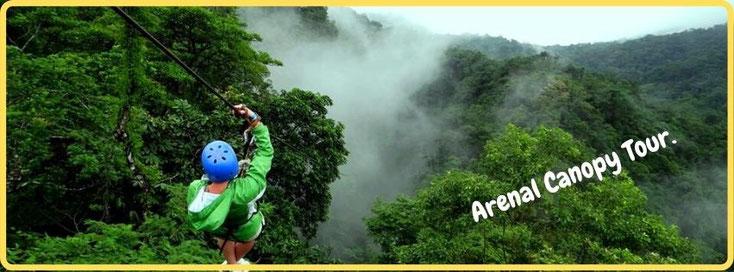 Arenal Canopy Tour - La Fortuna
