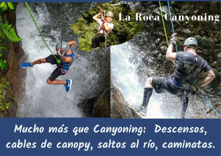 La Roca Canyoning