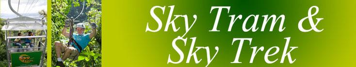 Sky Tram + Sky Trek + Sky Walk - Arenal Combo Package