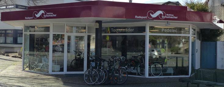Die Flugplatzlaufserie wird freundlich unterstützt von Radsport Matthias Schumacher. An der Gedächtniskirche Speyer