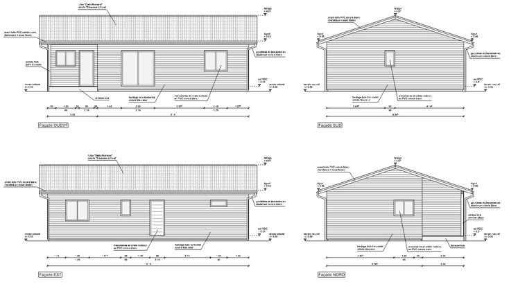 maison ossature bois gironde hourtin 33990