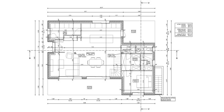 projet permis maison pessac 33600 gironde 33