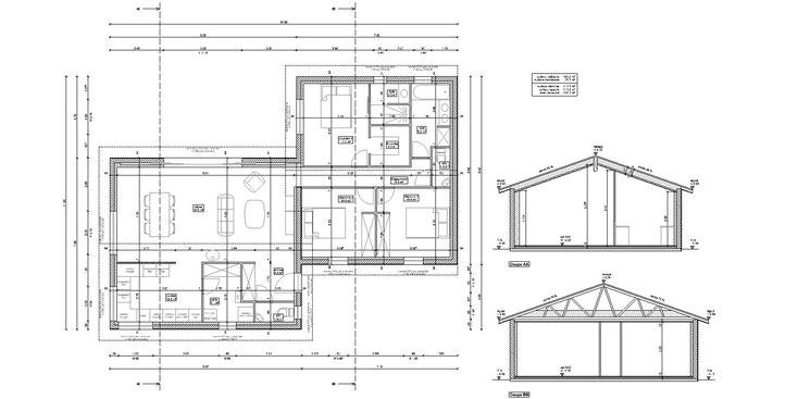 projet permis maison lacanau 33680 gironde 33