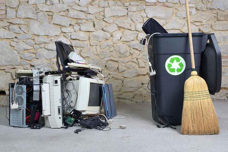 reciclaje de tecnología