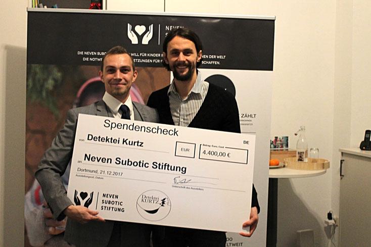 Neven Subotic Stiftung; Detektei Lüdenscheid, Detektiv Ennepetal, Privatdetektiv Haan