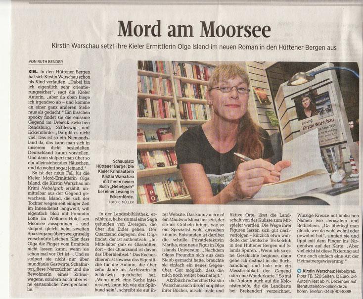 aus: Kieler Nachrichten, 4.12.2018