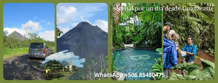 Visite La Fortuna desde su Hotel en Guanacaste.