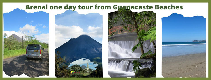 Arenal one day tour from Guanacaste Beach