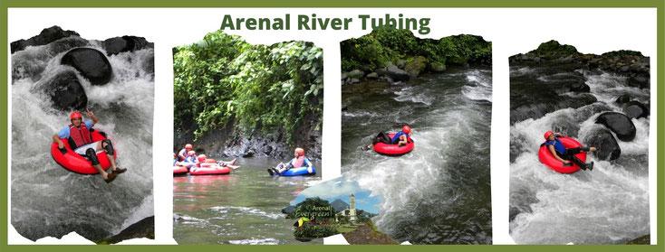 Aventura en el Río Arenal - Tour de Tubing