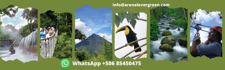 Costa Rica 8 noches: Playas Guanacaste, Monteverde, Río Celeste, La Fortuna Arenal.