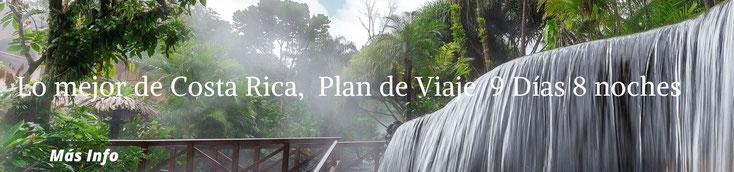 Naturaleza, Aventura, Descanso, Relajación.  Paquete a su medida para visitar Costa Rica