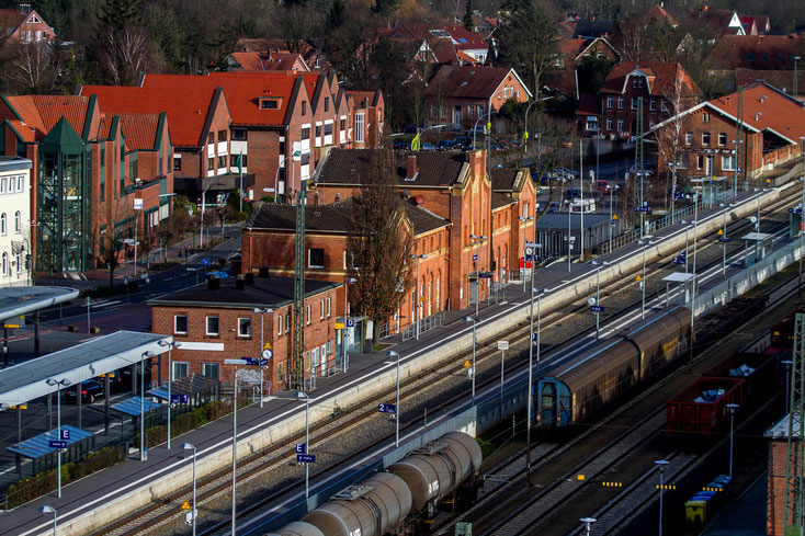 Bahnhof Lingen; Detektei Lingen, Detektiv Lingen, Privatdetektiv Lingen, Wirtschaftsdetektei Lingen
