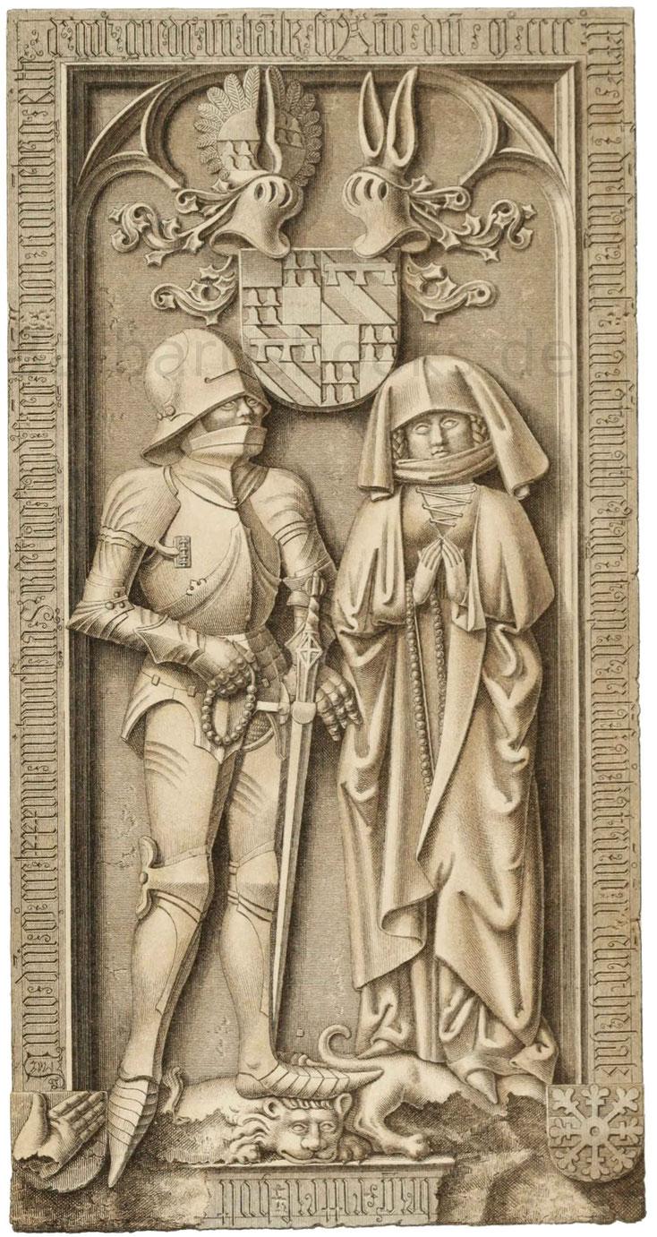 Grabdenkmal des Hans von Cronberg (gest. 1488).