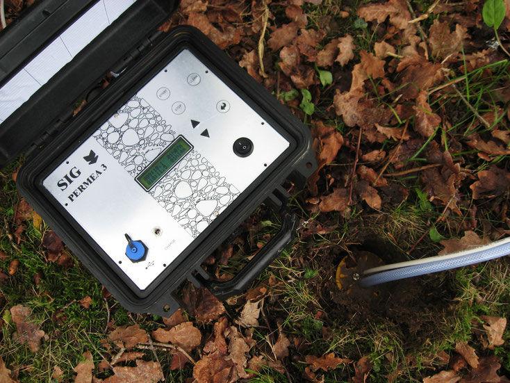 infiltrômetro  do solo