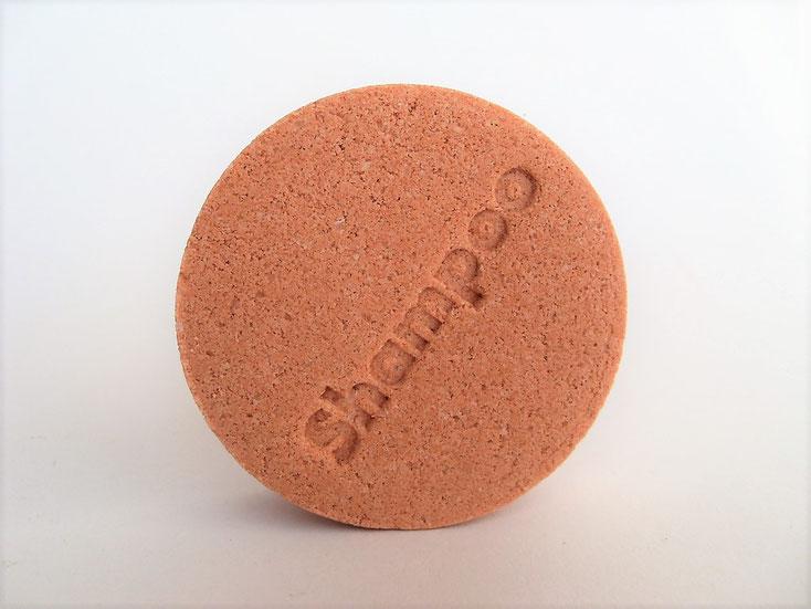 Festes Shampoo mit Brokkolisamenöl - Anti-Frizz Shampoo-Stein - Naturseifen und Wellness-Shop
