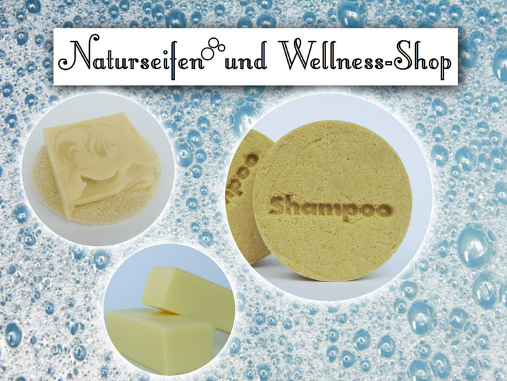Naturseife palmölfrei - festes Shampoo - festes Deo - Naturseifen und Wellness-Shop
