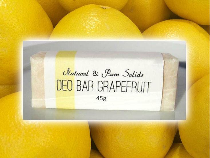 Festes Deo - Deo Bar Grapefruit - Naturseifen und Wellness-Shop