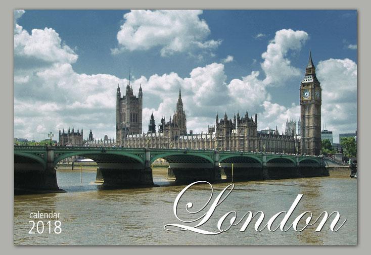 London Calendar 2018, Sebastian Kaps