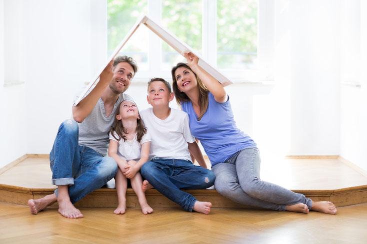 gesunde Familie durch Strahlenfrei Schlafen