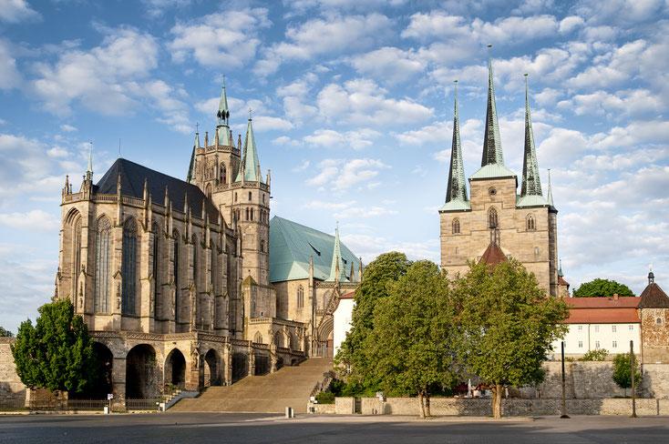 Erfurter Dom; Detektei Erfurt, Detektiv Thüringen, Privatdetektiv Erfurt, Wirtschaftsdetektei