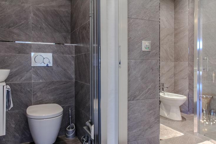 Nice Centre-Luxe-Terrasse, salles d'eau