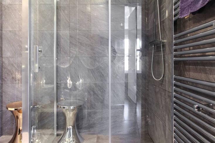 Nice Centre-Luxe-Terrasse douche à l'italienne