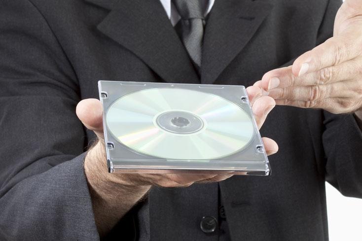 Daten-CD; Wirtschaftsdetektei Mecklenburg-Vorpommern, Detektiv Rostock