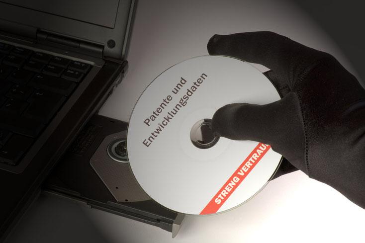 Daten-CD; Wirtschaftsdetektei Mecklenburg-Vorpommern, Detektiv Rostock, Detektei Rostock