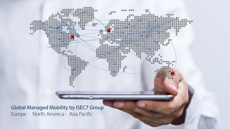 Standorte der ISEC7 Group