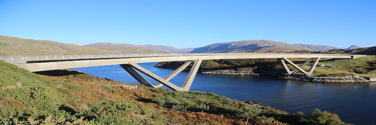 Kylesku Bridge NC500 - Bed and Breakfast Highlands of Scotland