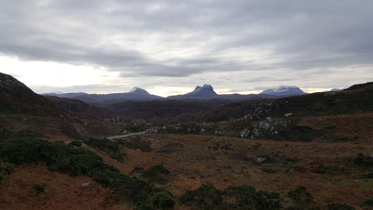 Walking in Assynt NC500 - Bed and Breakfast Highlands of Scotland