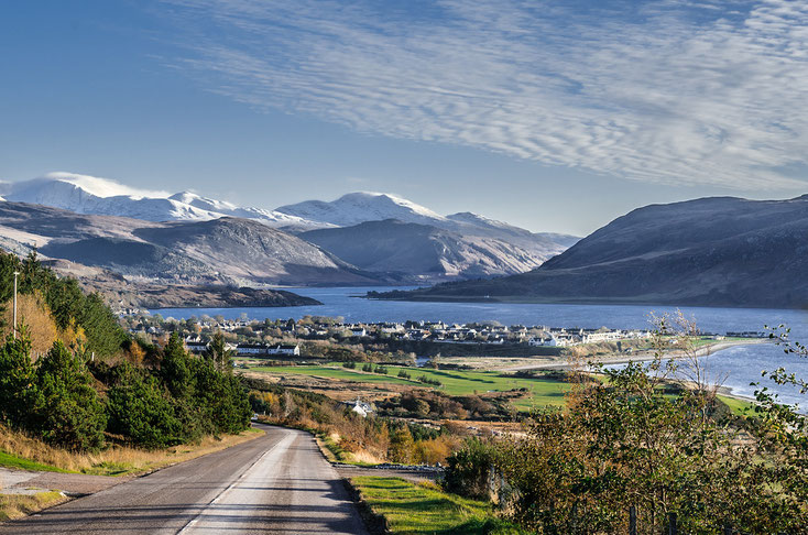 Ullapool Highlands of Scotland