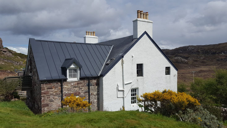 Rear Bed and Breakfast Highlands of Scotland NC500