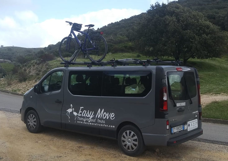 Easy Move Transfer and Tours per cicloturismo e trekking
