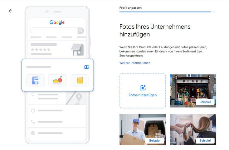 Google My Business Fotos