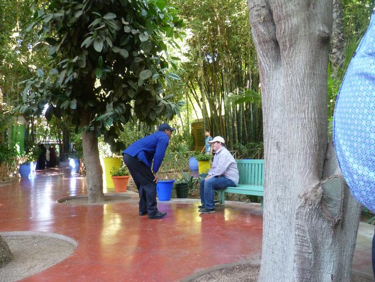 Menschen mit Down Syndrom sind in Marokko Engel. Ich wurde häufig von Fremden angesprochen.
