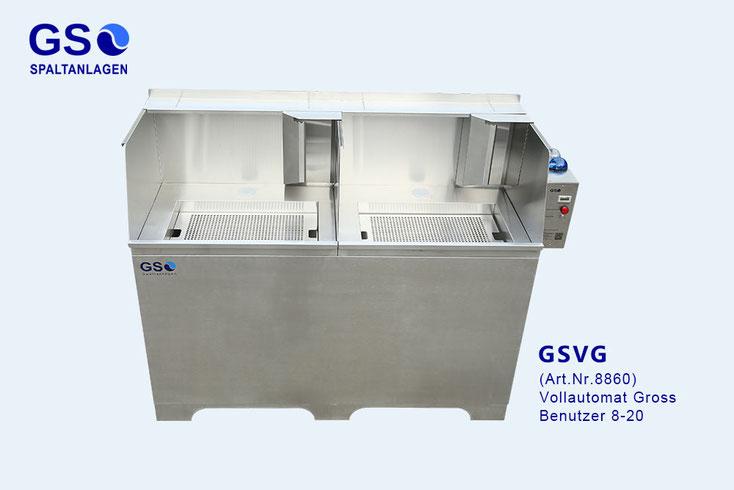 Waschplatz Maler, Spaltanlage GS-Modul 300