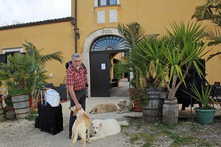 Sizilien Nähe Segeste - Auschecken im Agritourismo Baglio Pocoroba