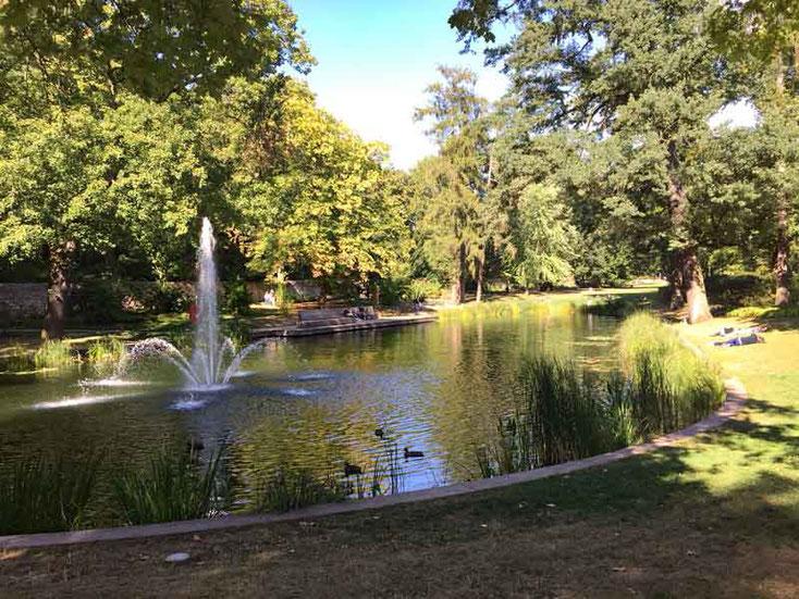 Im Schloßpark von Fulda