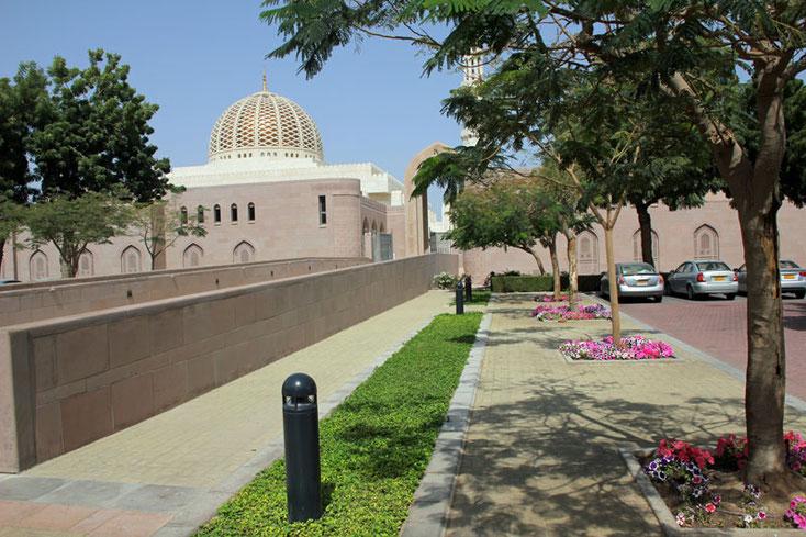 Bild 5 Sultan Qaboos Moschee