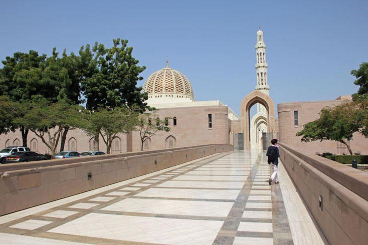 Bild 4 Sultan Qaboos Moschee