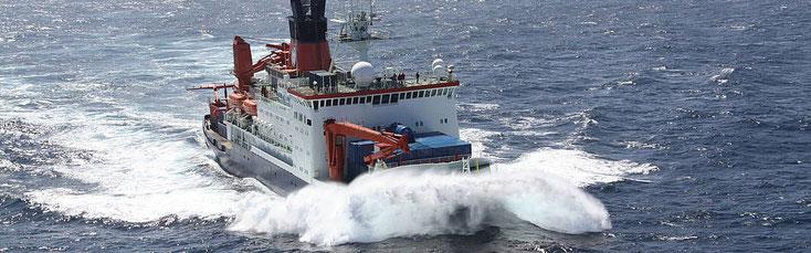 Bild 1 Das Forschungsschiff Polarstern Quelle: AWI
