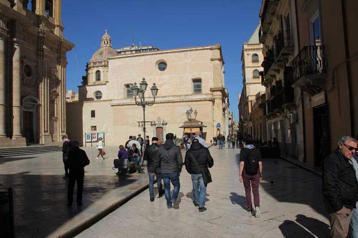Sizilien 2016 - Morgens in den Straßen von Marsala