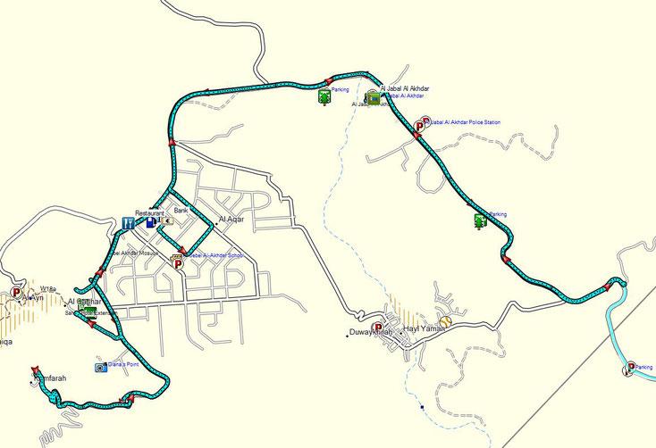 Bild 20 Erkundung der Gegend am Nachmittag - Kartenquelle: © OpenStreetMap-Mitwirkende
