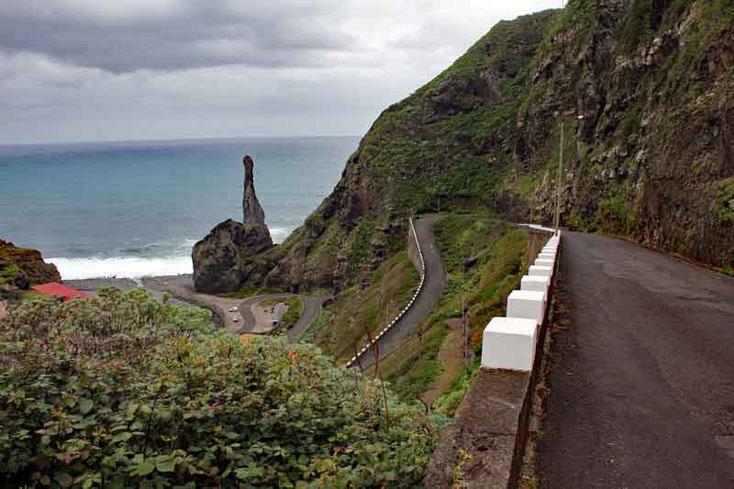 Auf der Nordseite von Madeira, Urlaub Madeira März 2015