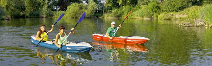 Boote: HELIOS I. und HELIOS II.